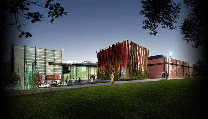 Photo of newly refurbished Bendigo Art Gallery